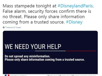 Fake news Land : Incident à Disneyland Paris
